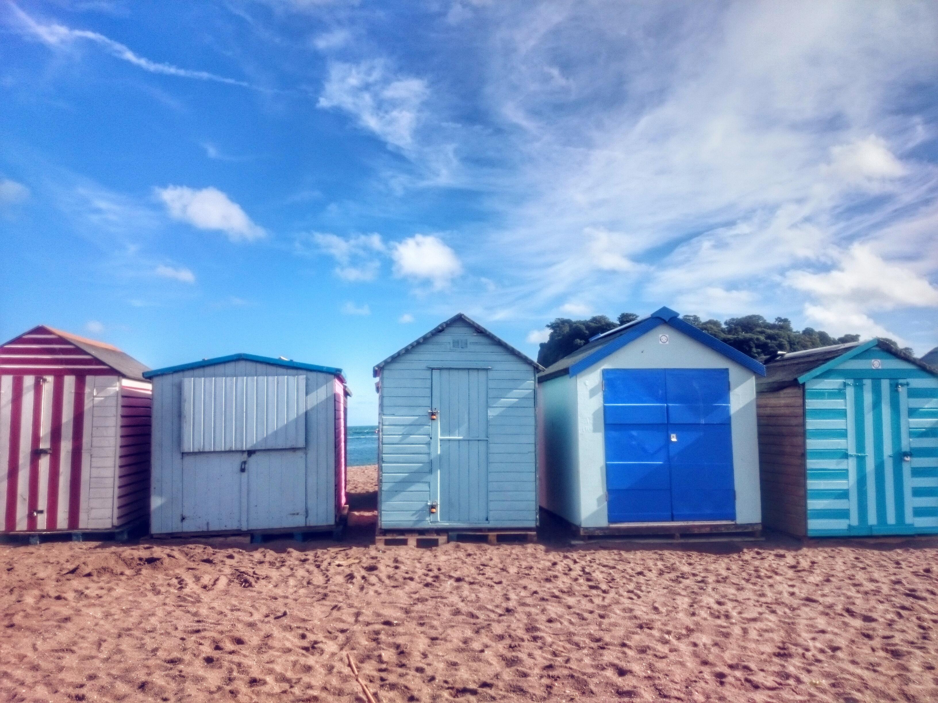 Gluten free devon beach huts