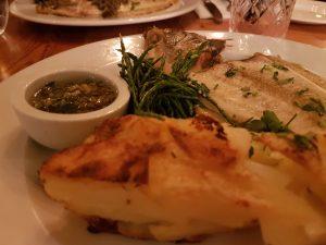 Loch Fyne Bath Gluten Free Dinner