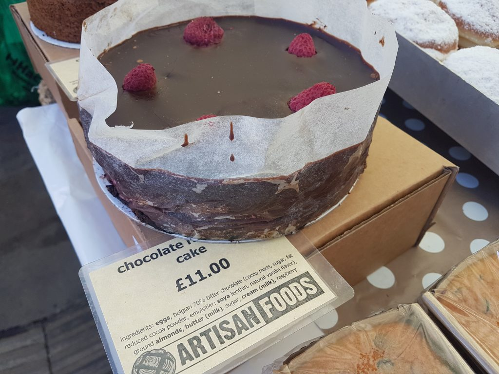 Gluten Free Broadway Market London My Guide Kue Brownis By Nature Cakes Bali If You Are Looking For Cake One They Do Individually Wrapped Pieces Of Chocolate Mandarin Loaf Packed With Chunks Real Orange And Dark