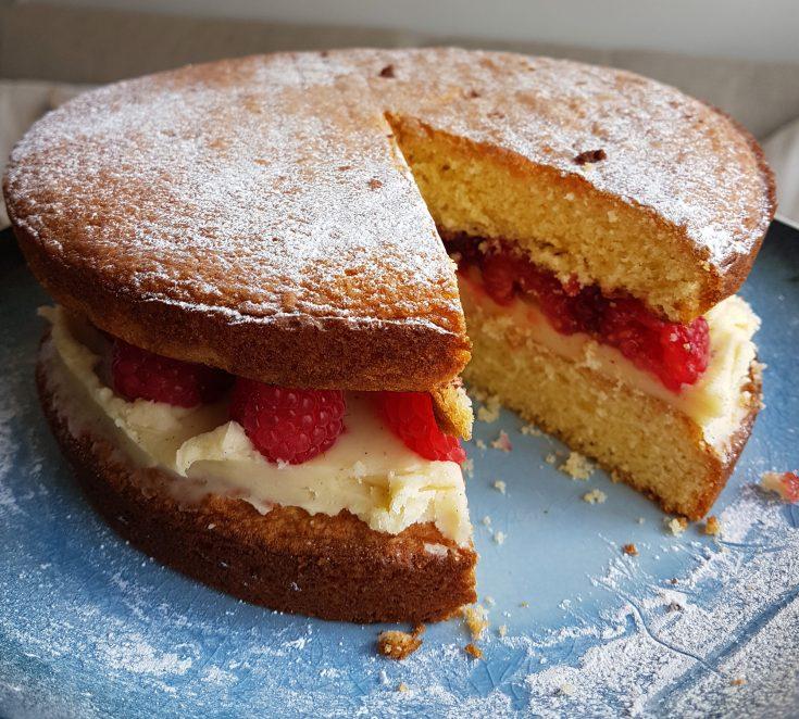 Victoria Sponge Cake (GF)
