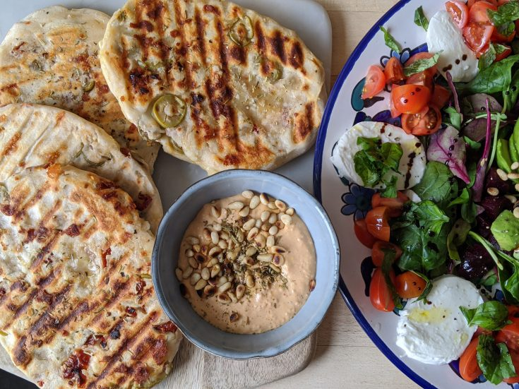 Easy Peasy Gluten Free Flatbread