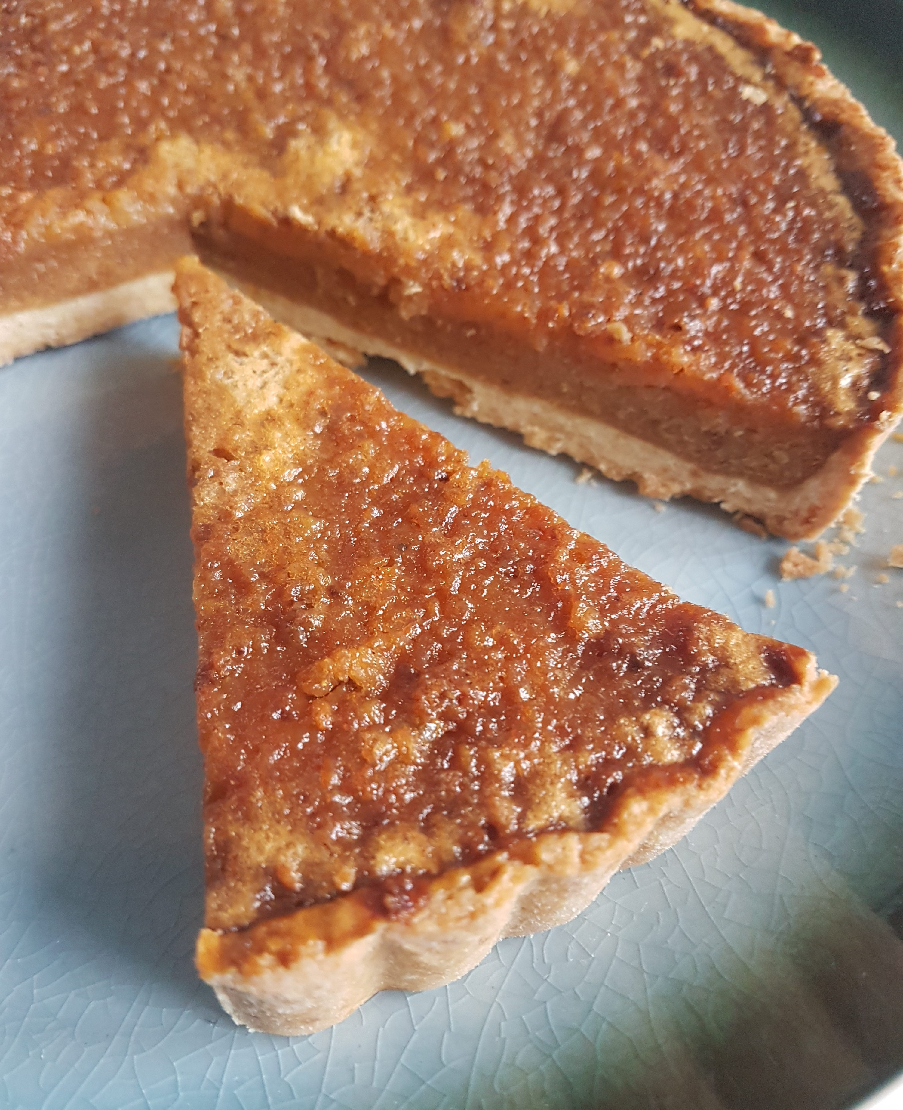 Salted Caramel Treacle Tart Gf My Gluten Free Guide