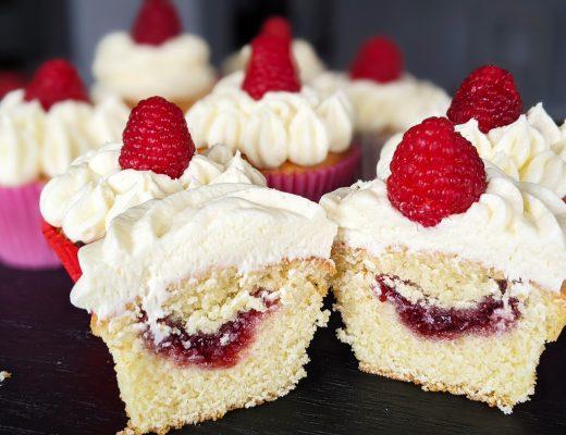 gluten free victoria sponge cupcakes recipe
