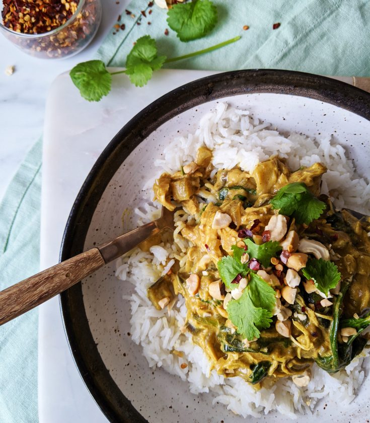 Satay Chicken Coconut Curry (GF, DF)