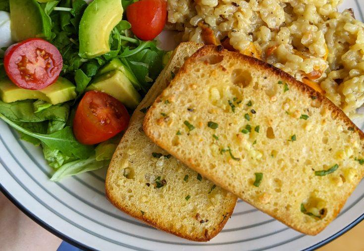 Easy Gluten Free Garlic Bread