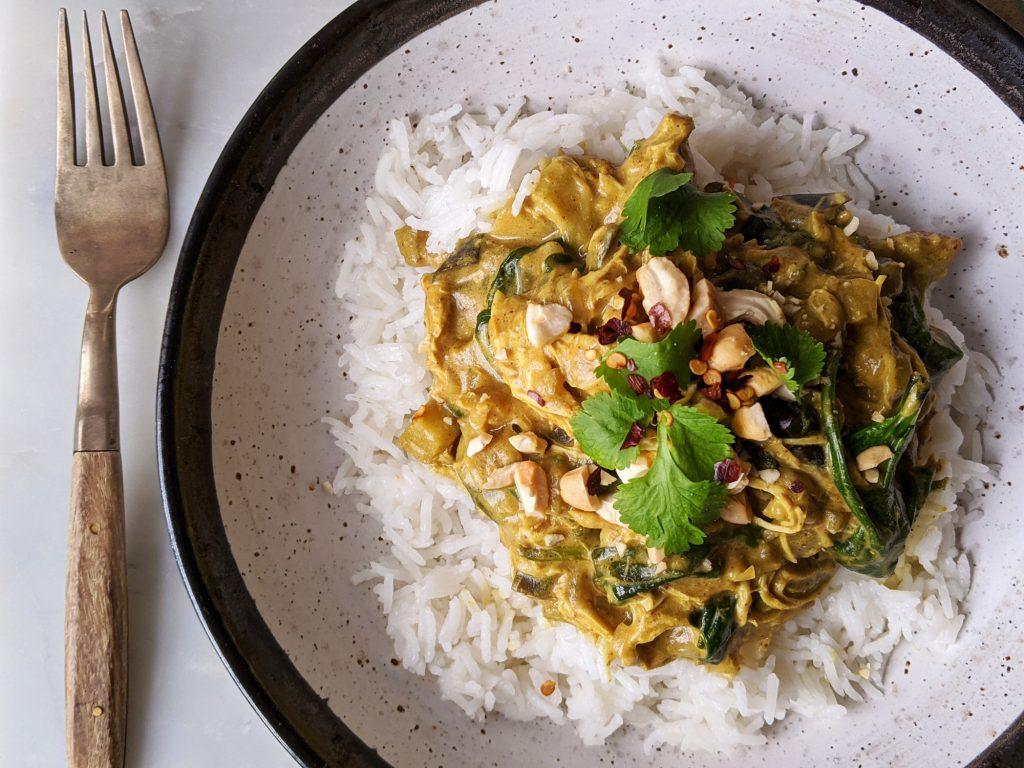 satay chicken curry recipe
