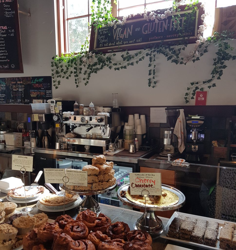We Visited The Fremont Bakery Cafe And It Was A Really Sweet Set Up With Mounds Of Cakes Bakes To Tempt You In Their Cinnamon Buns Are Very Good