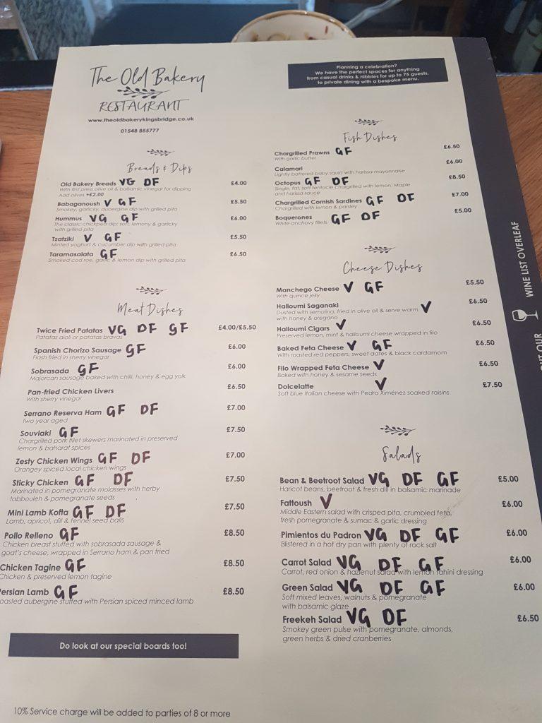 Gluten Free Devon Restaurants Cafes My Gluten Free Guide