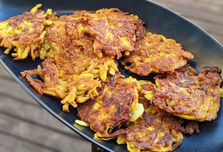 Onion Bhajis (GF)