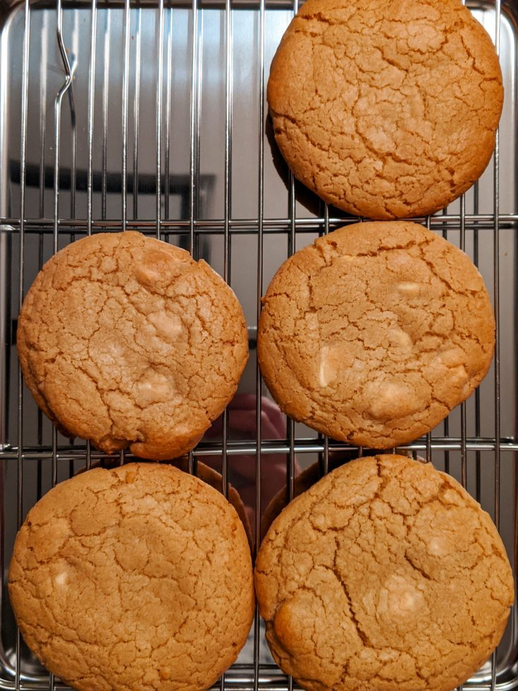 White Chocolate Chunk Cookies (GF)