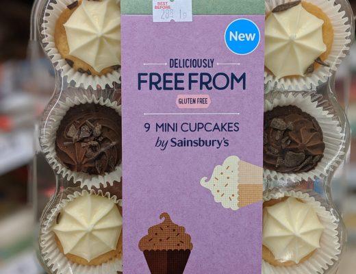 gluten free cupcakes sainsburys