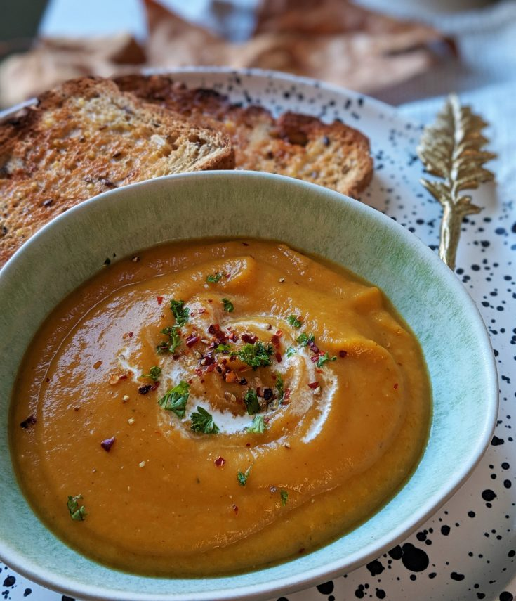 Spiced Parsnip & Carrot Soup