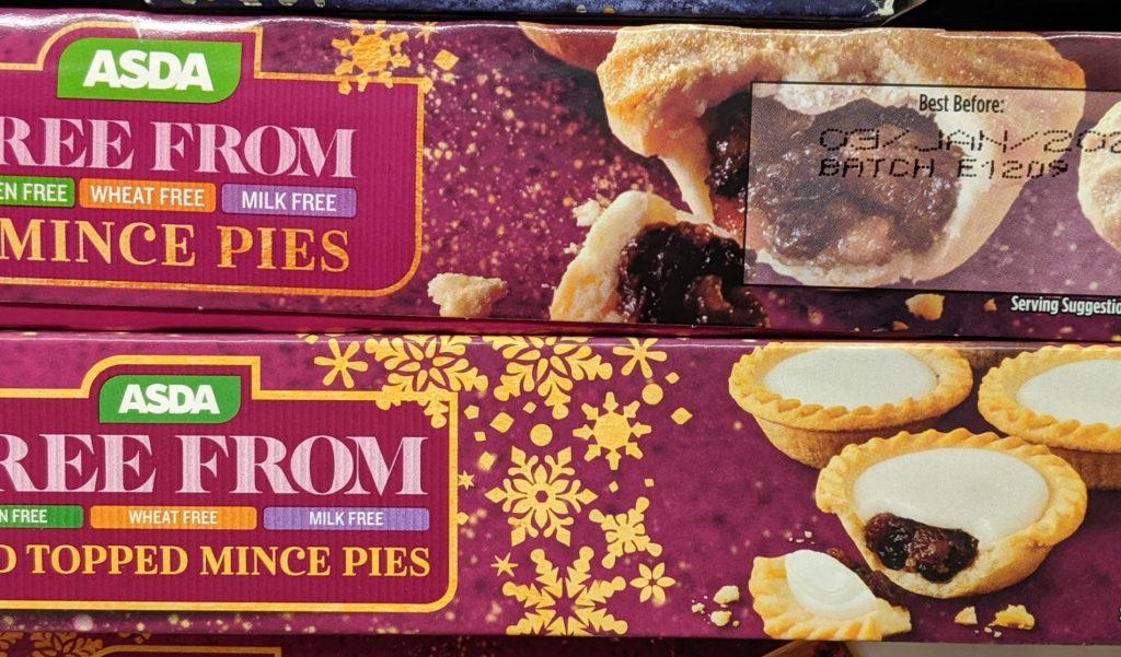 20 Gluten Free Mince Pies 2019 - Asda Gluten Free Mince Pies