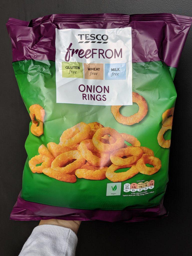 gluten free onion rings tesco