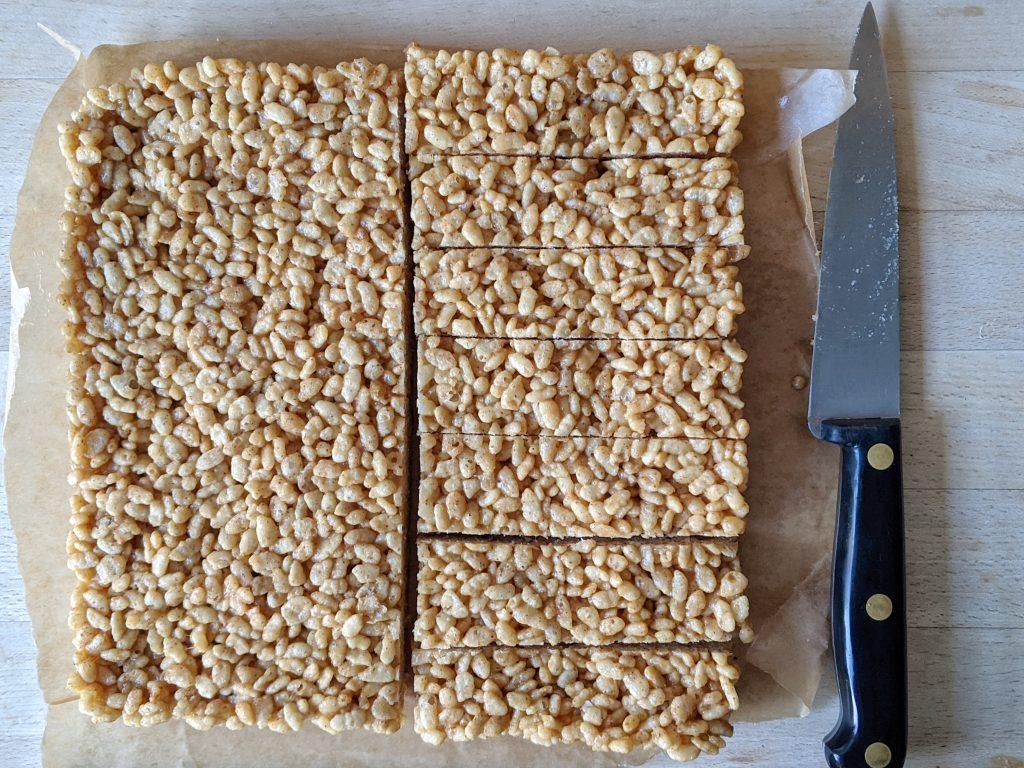 gluten free treat bar recipe