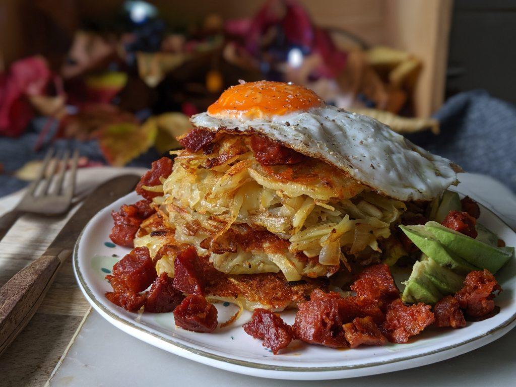 cheesy potato rosti recipe uk