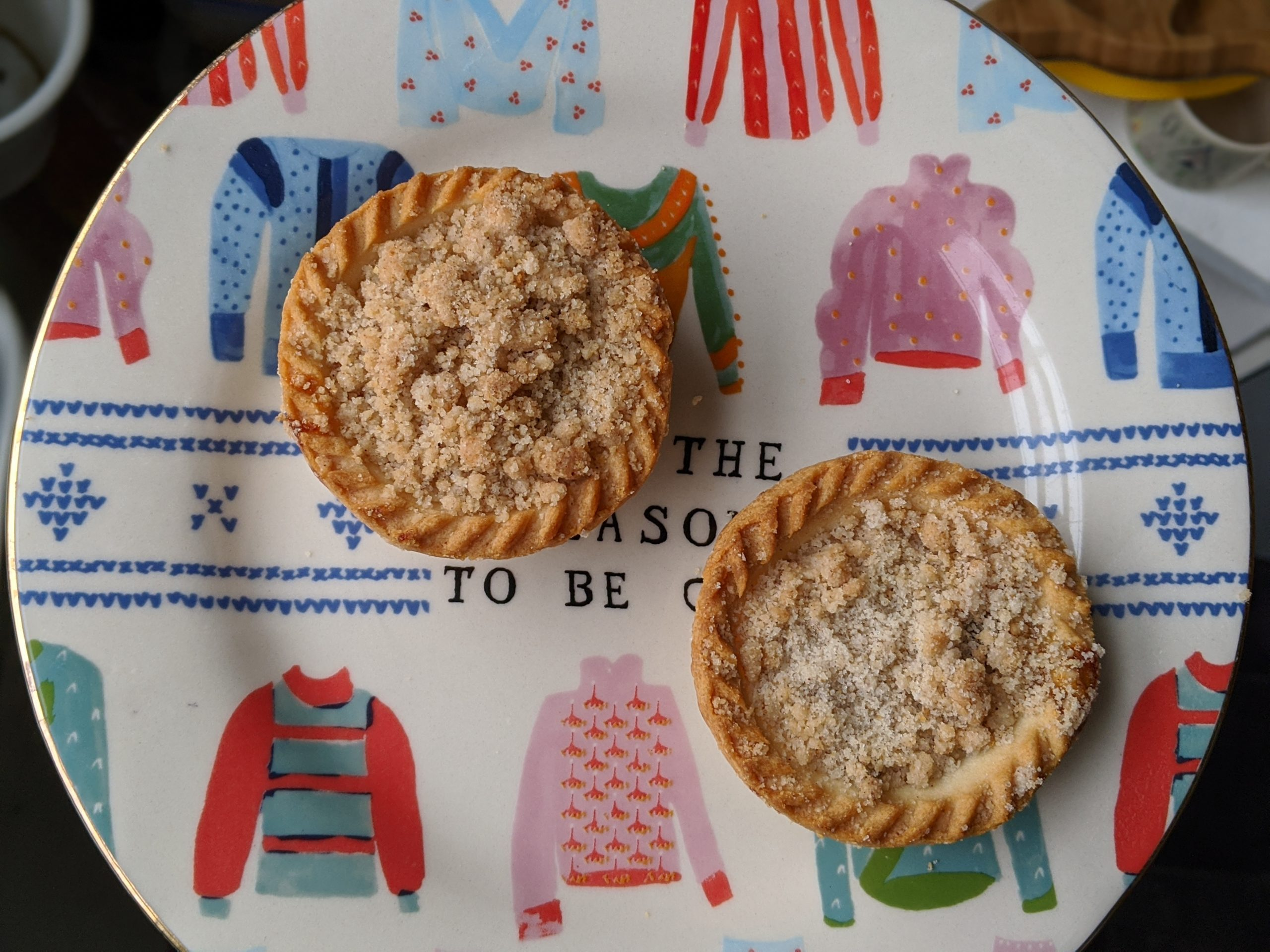 20 Gluten Free Mince Pies 2019 - Tesco Apple Crumble Gluten Free Mince Pies
