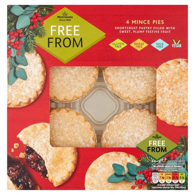 20 Gluten Free Mince Pies 2019 - Morrisons Gluten Free Mince Pies