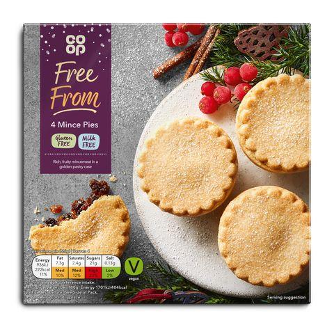 20 Gluten Free Mince Pies 2019 - Coop Gluten Free Mince Pies