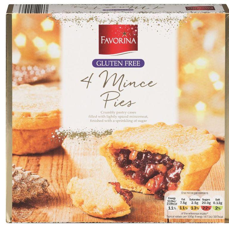 20 Gluten Free Mince Pies 2019 - Lidl Gluten Free Mince Pies