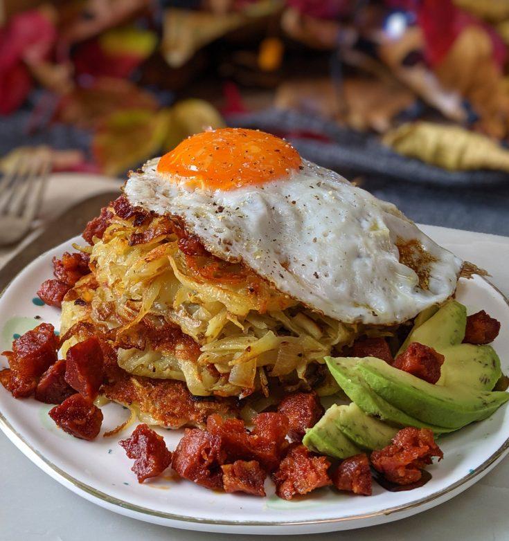 Cheesy Potato Rosti (GF)