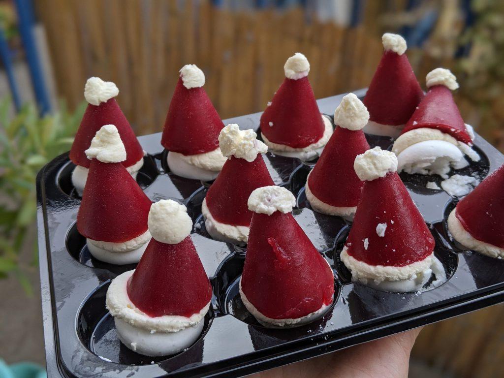 25 Gluten Free Desserts for the Festive Season - santa hats m&s
