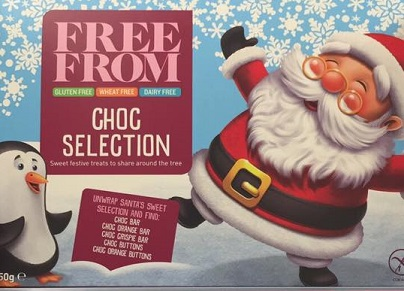 gluten free selection box asda choc selection dairy free
