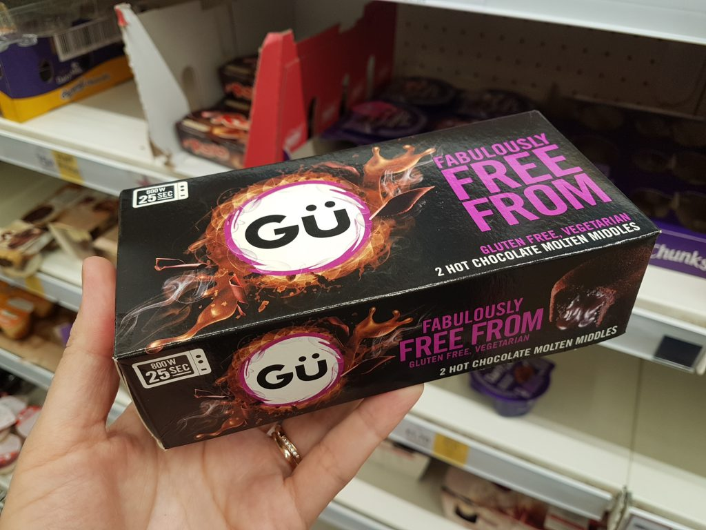 gluten free desserts uk