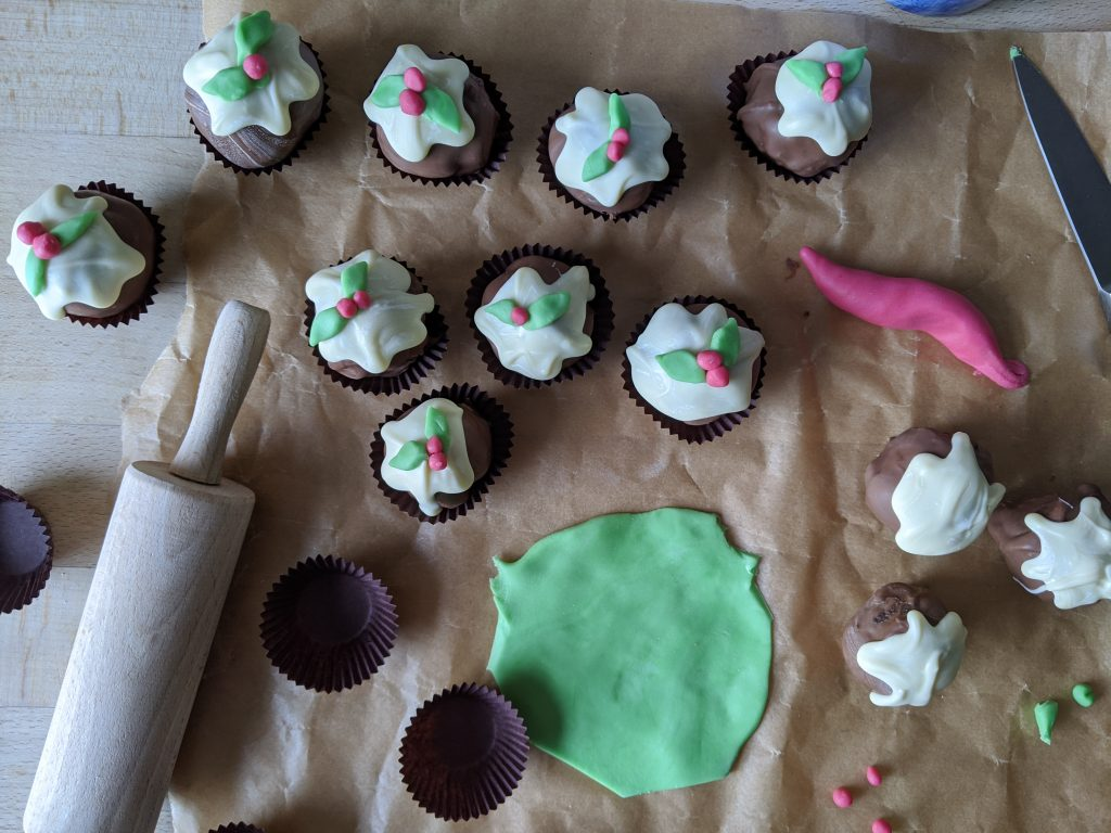 gluten free christmas pudding truffles recipe uk