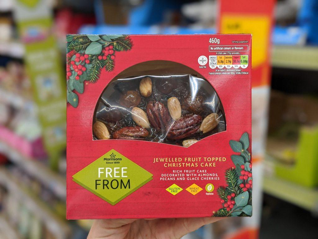 75 Gluten Free Desserts for the Festive Season - gluten free christmas cake morrisons