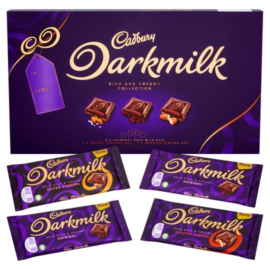 gluten free selection box cadbury darkmilk