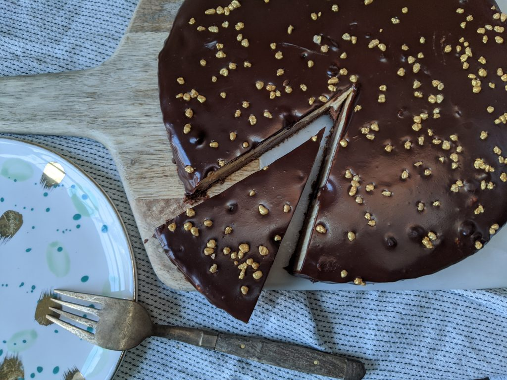 gluten free triple chocolate torte