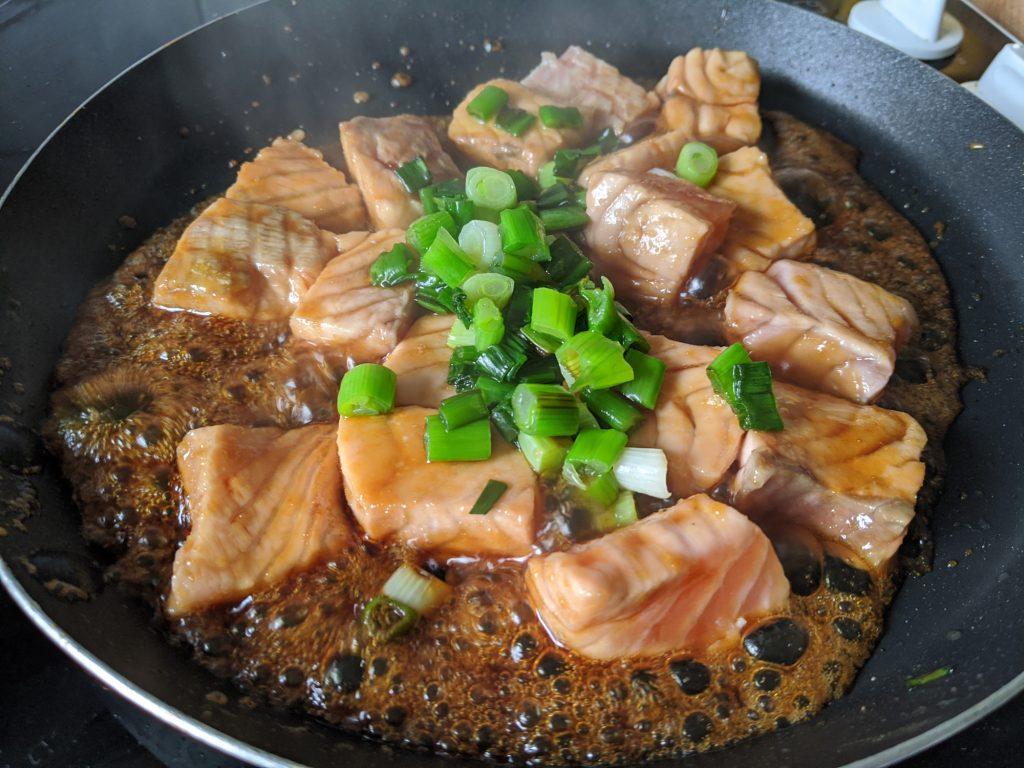 easy teriyaki salmon cooking