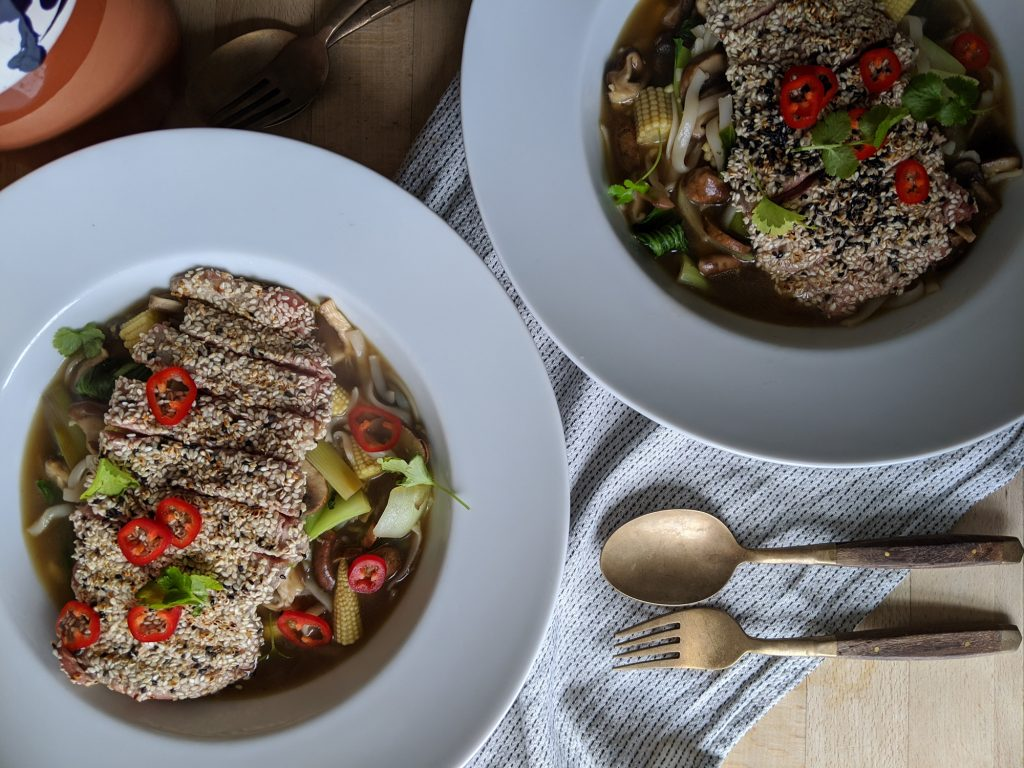 steak and shiitake noodles recipe uk gluten free