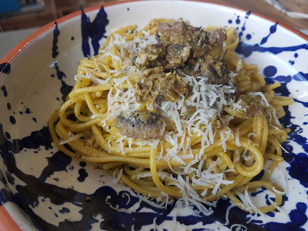 gluten free quick pasta dish