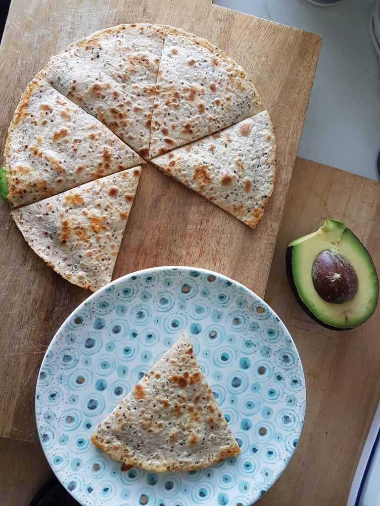 cheese and avocado quesadillas gluten free