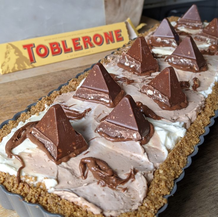 Toblerone Cheesecake (GF)