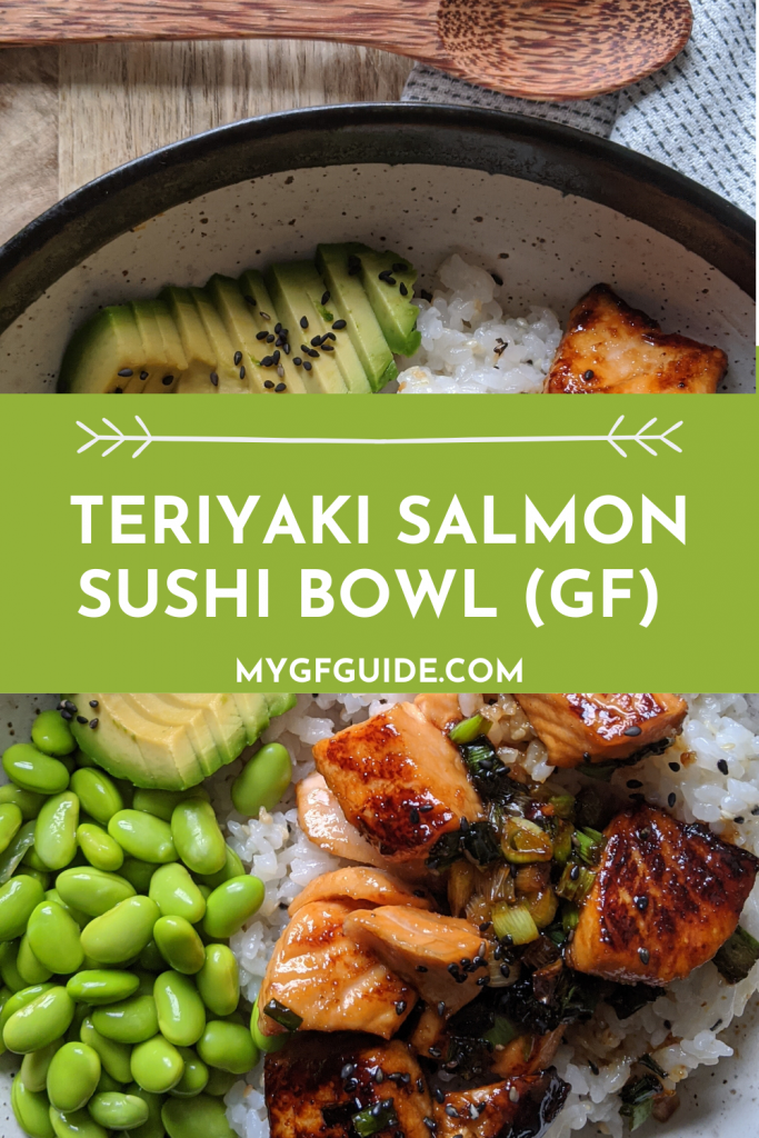 Teriyaki Salmon Sushi Bowl Recipe