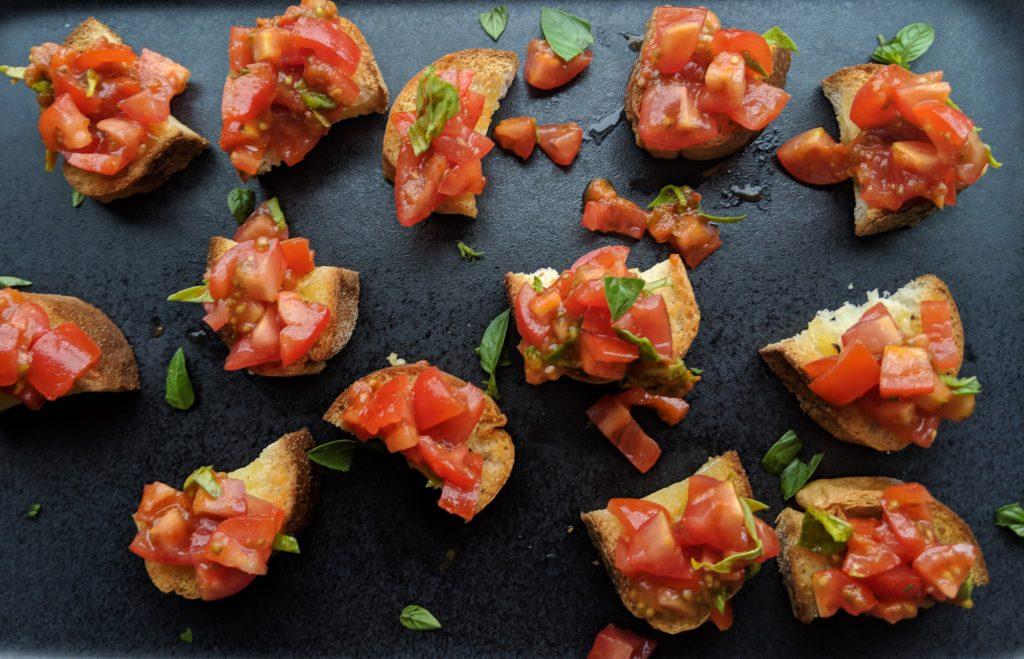 gluten free bruschetta