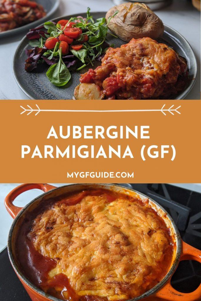 Gluten Free Aubergine Parmigiana Pinterest