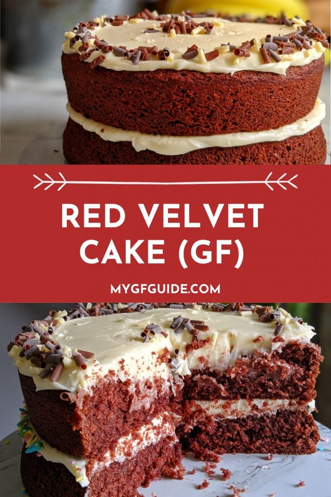 Gluten Free Red Velvet Cake Recipe UK Pinterest