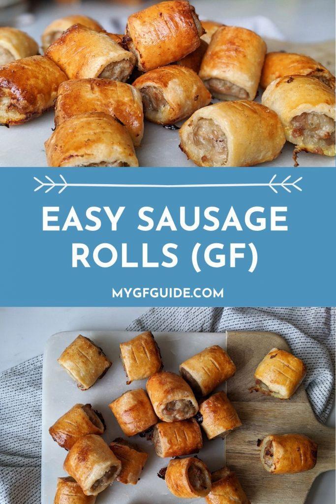 gluten free sausage rolls recipe pinterest
