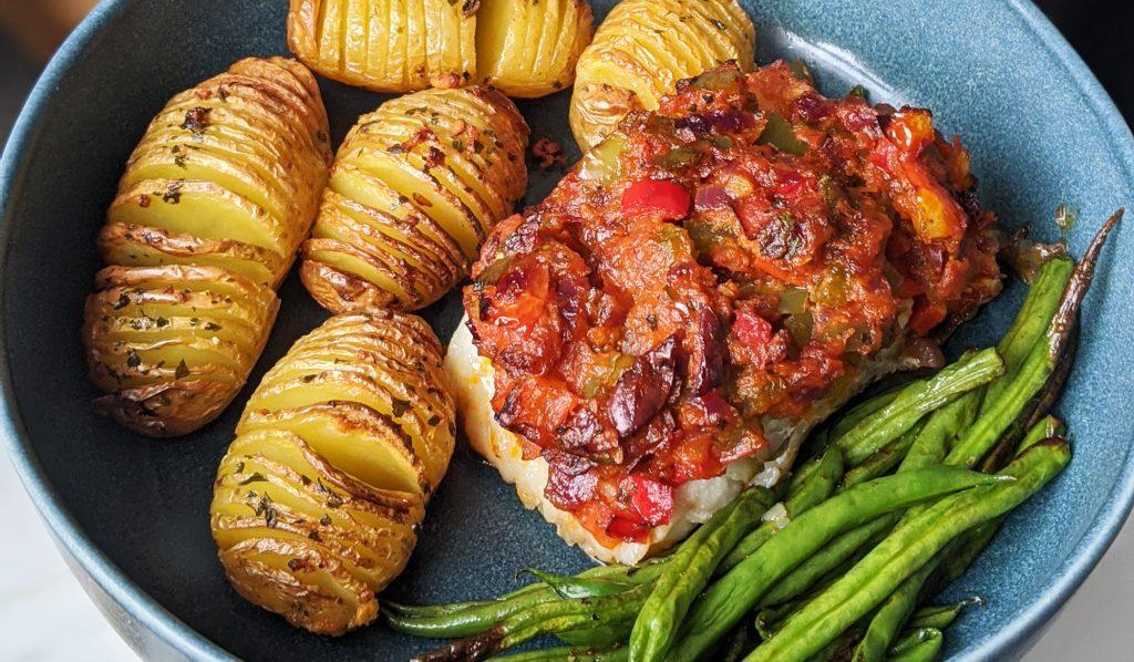 Mediterranean Baked Cod Recipe Gf Df My Gluten Free Guide