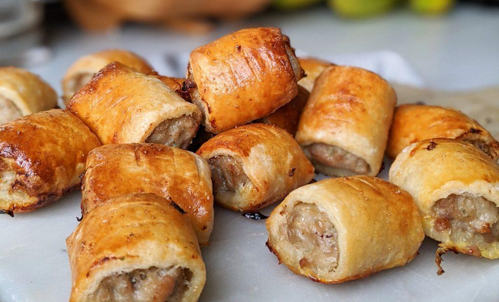 gluten free sausages rolls recipe uk