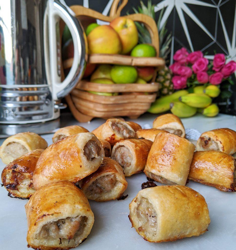 gluten free sausage rolls recipe uk