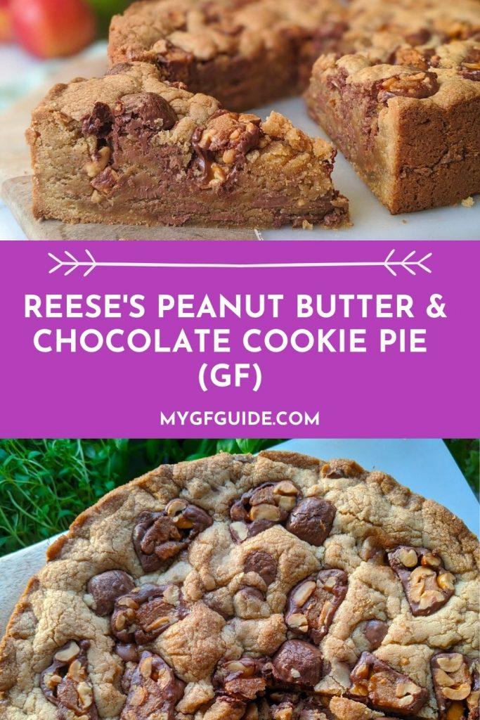 gluten free cookie pie recipe pinterest