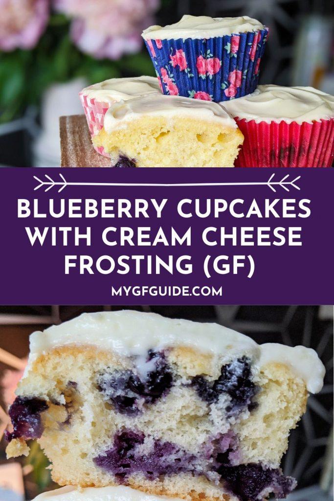 gluten free blueberry cupcakes pinterest
