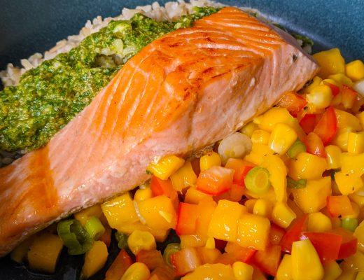 salmon mango salsa salsa verde