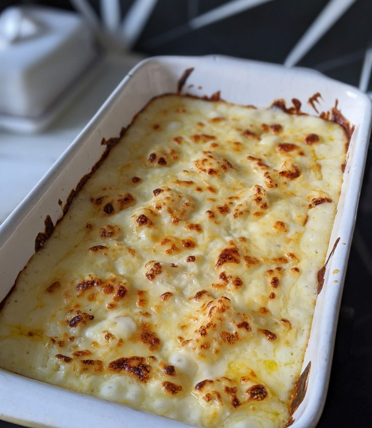 gluten free cauliflower cheese
