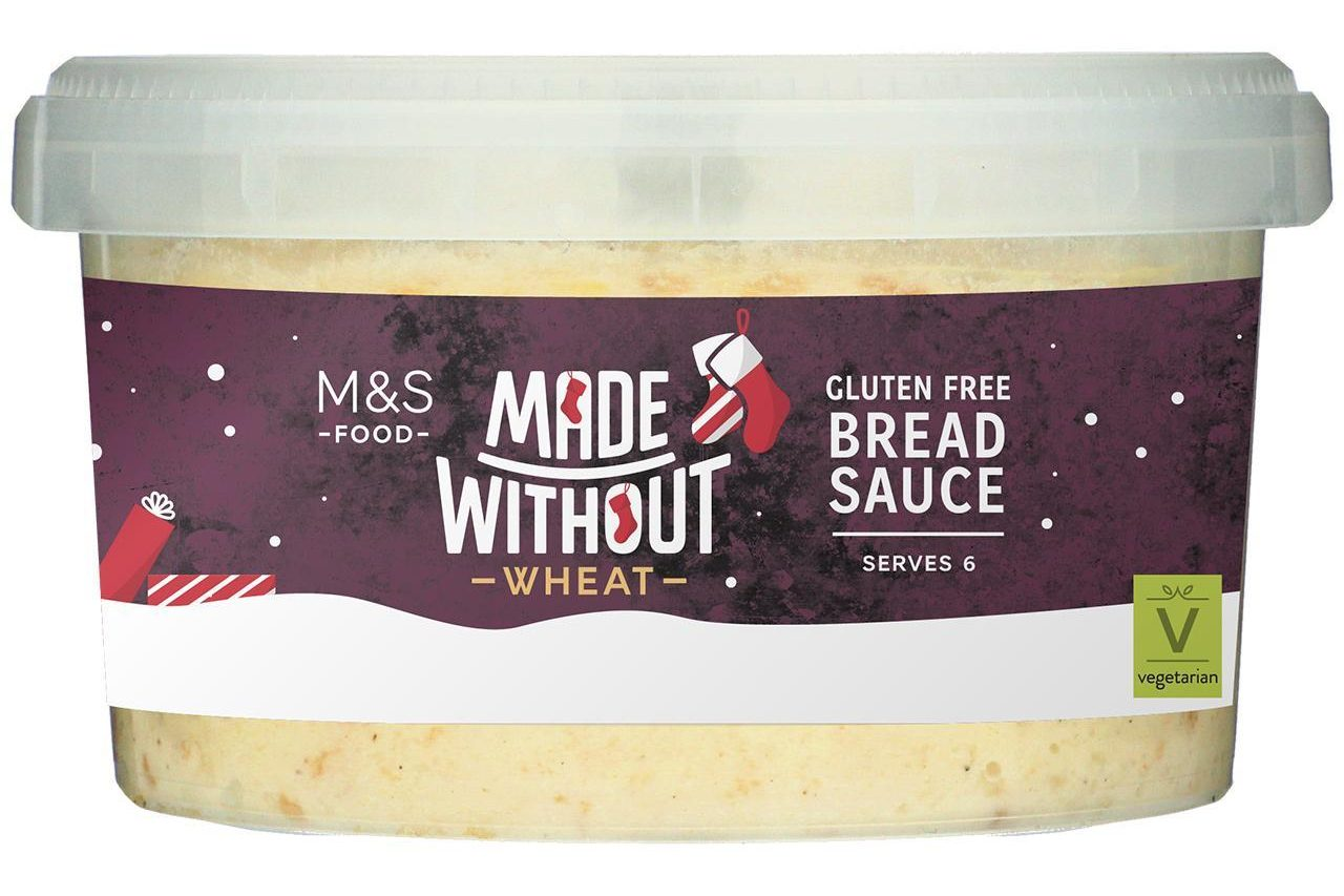 marks and spencer gluten free bread sauce 2020